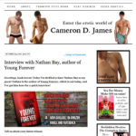 Interview by Cameron D. James
